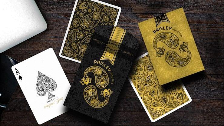 Paisley Magical Playing Cards - magic