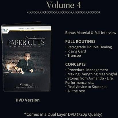 Paper Cuts - Secret Volume