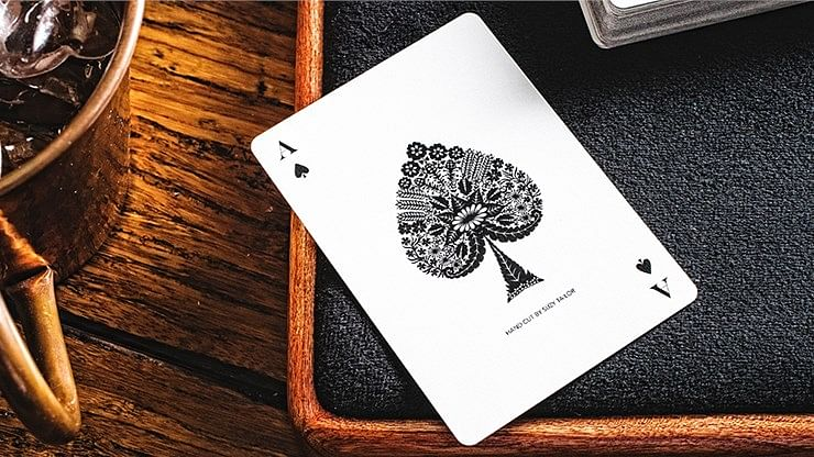 Papercuts Hand-Cut Playing Cards