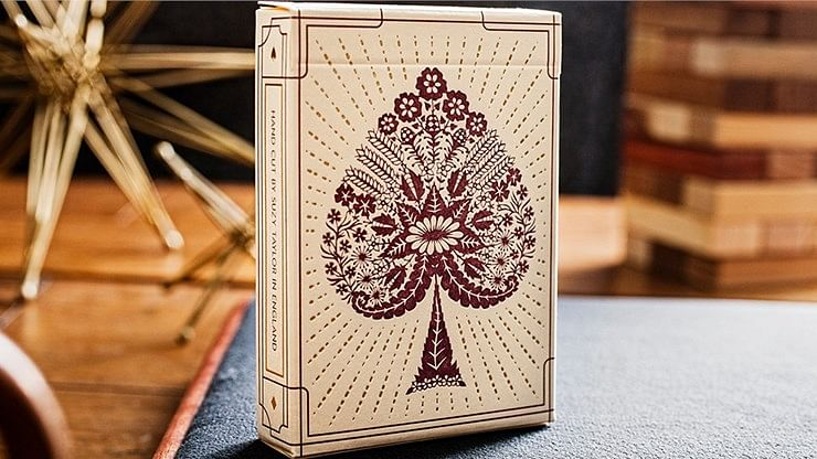 Papercuts Hand-Cut Playing Cards - magic