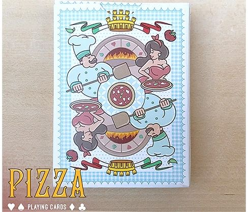 Passione's Pizza Playing Cards