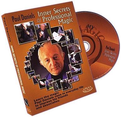 Paul Daniels' Inner Secrets Of Professional Magic - magic