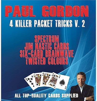 Paul Gordon's 4 Killer Packet Tricks Volume 2 - magic