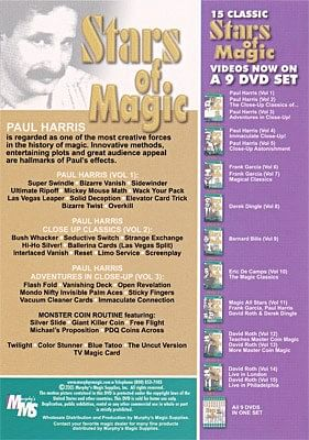 Paul Harris - Stars Of Magic 1, 2 and 3