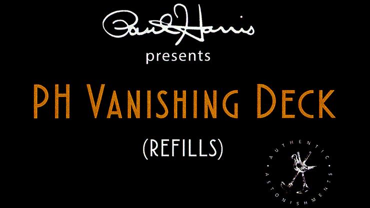 Paul Harris Vanishing Deck Refill Pack - magic