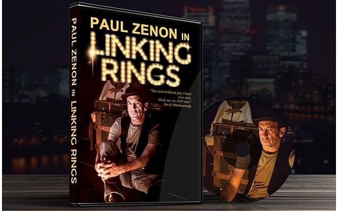 Paul Zenon in Linking Rings - magic