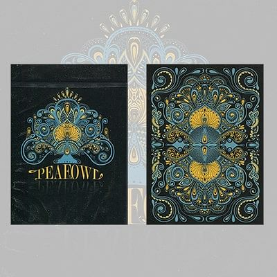Peafowl Deck (Black) - magic