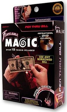 Pen Through Bill - magic