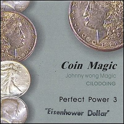 Perfect Power Eisenhower Dollar - magic