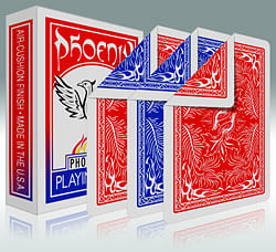 Phoenix Double Backed Playing Cards - magic