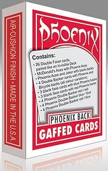 Phoenix Gaffed Deck - magic