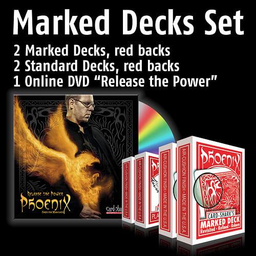 Phoenix Marked Decks Set - magic