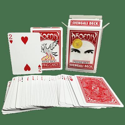 Phoenix Svengali Deck (Casino Quality) - magic