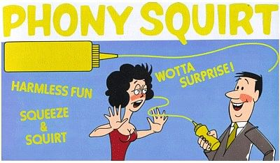 Phony Squirt Mustard