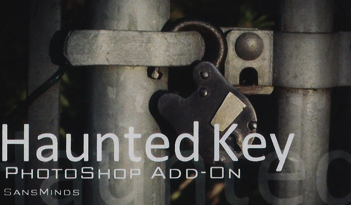 Photoshop - Haunted Key Add On