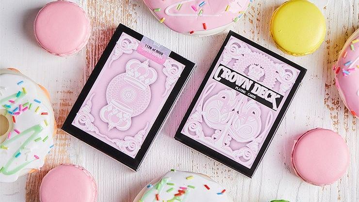 Pink Crown Playing Cards - magic
