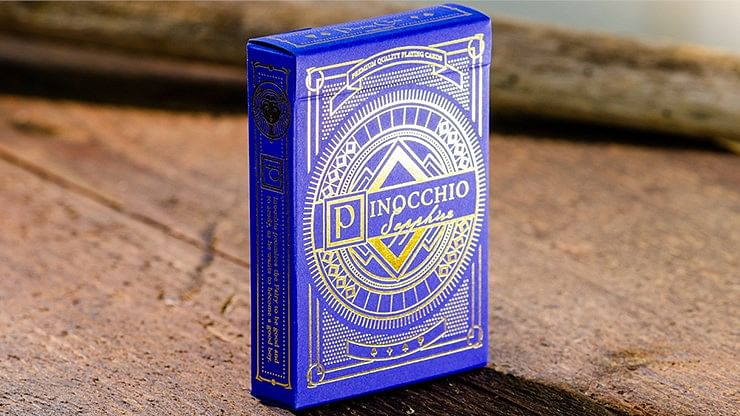 Pinocchio Sapphire Playing Cards - magic