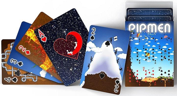 Pipmen World Full Art Playing Cards