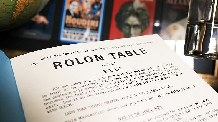 Plans for the Rolon Table