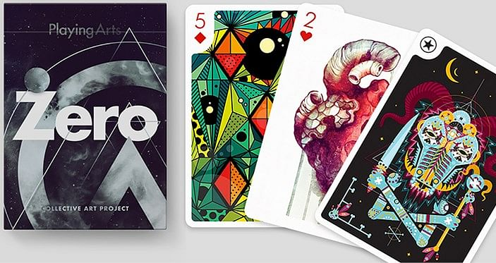 Playing Arts Edition Zero Augmented Reality Playing Cards - magic