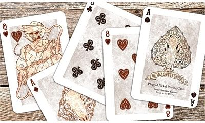 Plugged Nickel Playing Cards