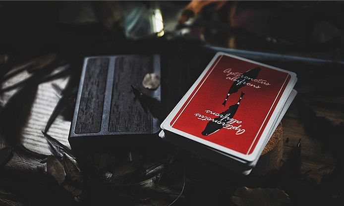 Plume Knife Playing Card