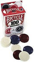 Poker Chip - regular Bicycle 100 - magic