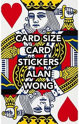 POKER Size Card Stickers - magic