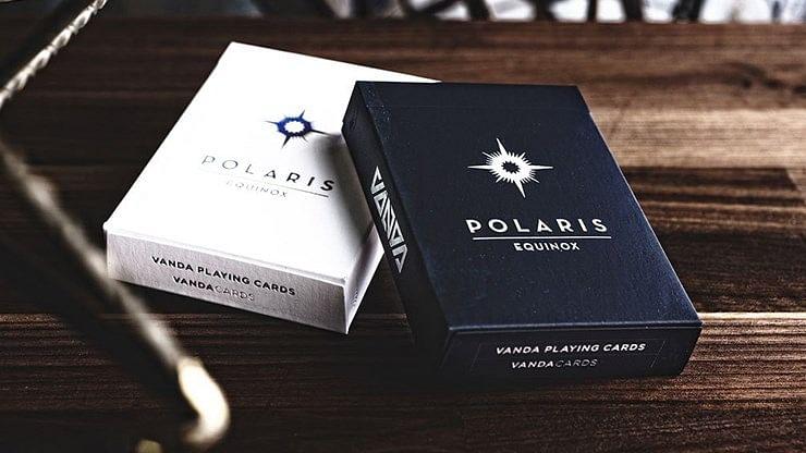 Polaris Equinox Dark Edition Playing Cards - magic