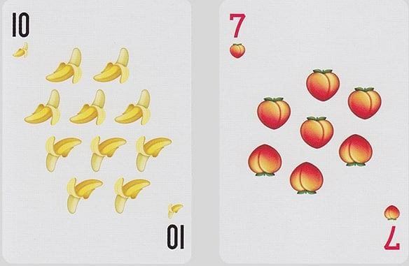 Poop Emoji Playing Cards