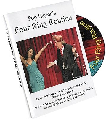 Pop Haydn's Comedy Four Ring Routine - magic