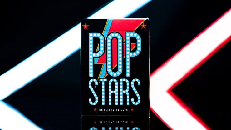Pop Star Playing Cards - magic