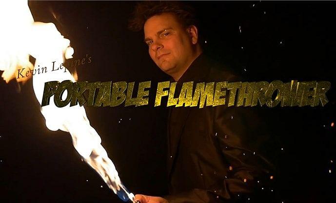 Portable Flame Thrower - magic