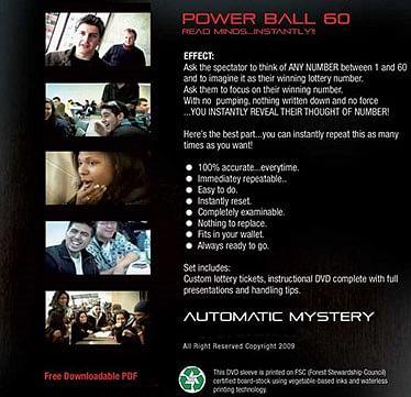 Powerball 60