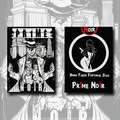 Pr1me Noir Deck  - magic