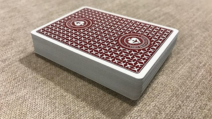 Jetsetter Premier Edition Restricted Red Playing Cards