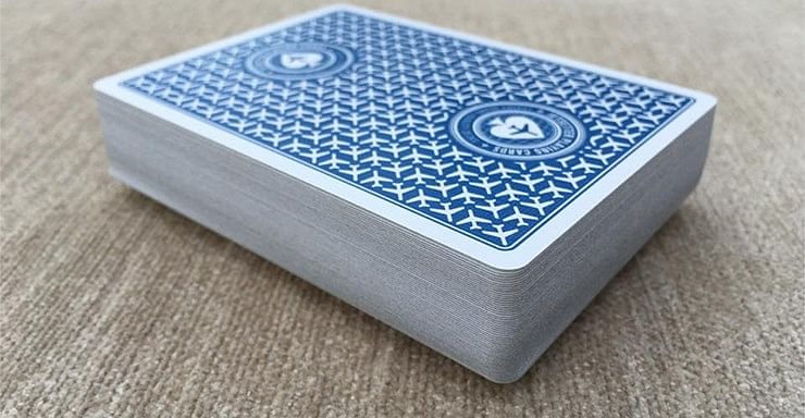 Jetsetter Premier Edition Altitude Blue Playing Cards