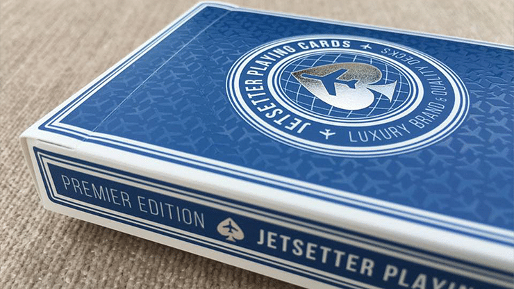 Jetsetter Premier Edition Altitude Blue Playing Cards  - magic