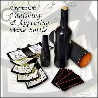 Premium Vanishing and Appearing Wine bottle - magic