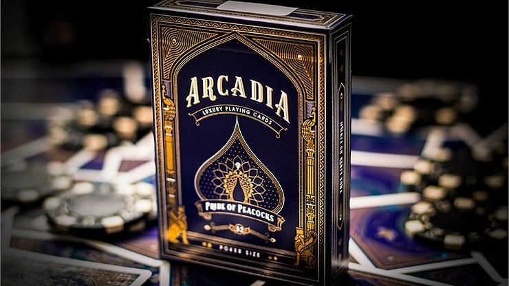 Arcadia Pride of Peacocks Playing Cards - magic