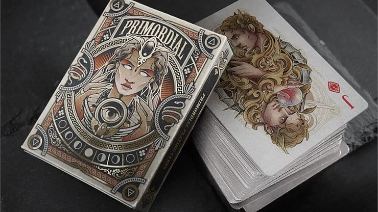 Primordial Greek Mythology Playing Cards (Aether Edition) - magic