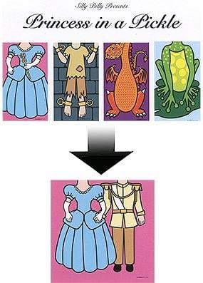 Princess in a Pickle  - magic
