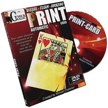 Print Card - magic