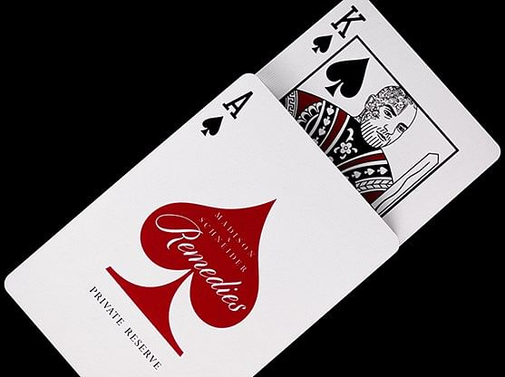 Private Reserve Remedies Playing Cards