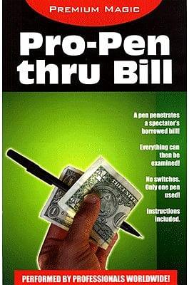 Pro Pen Through Bill - magic