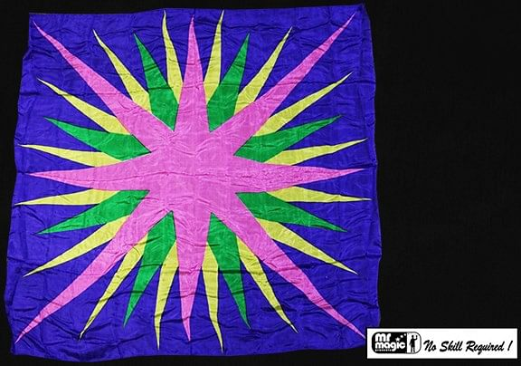 Production Hanky Star Burst - magic
