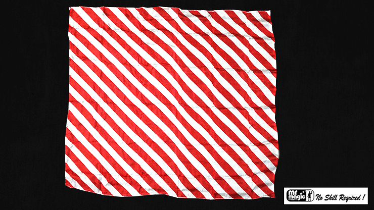 Production Hanky Zebra Red and White - magic