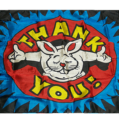 "Production Silk 16""x16"" (Thank You) - magic"