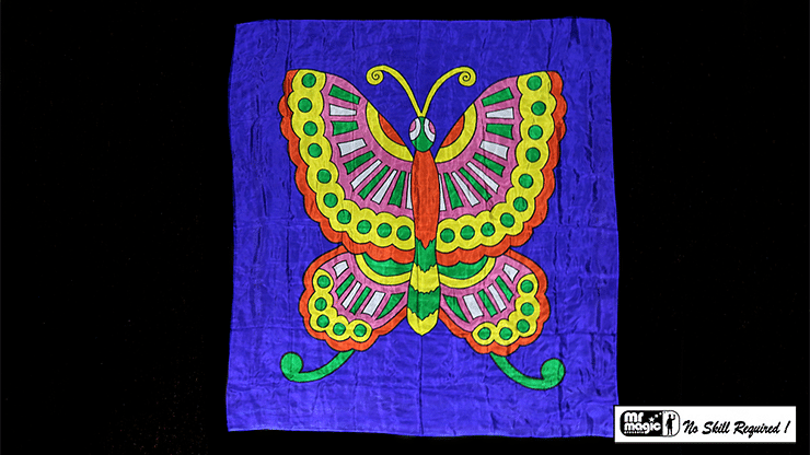 """Production Silk Butterfly 36"""" x 36"""" - magic"""