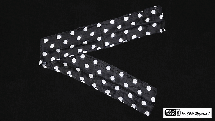 "Production Streamer Polka Dot 6"" x 18' - magic"